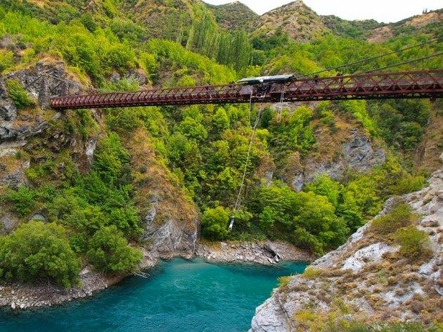 Kawarau Bridge Bungy Jumping