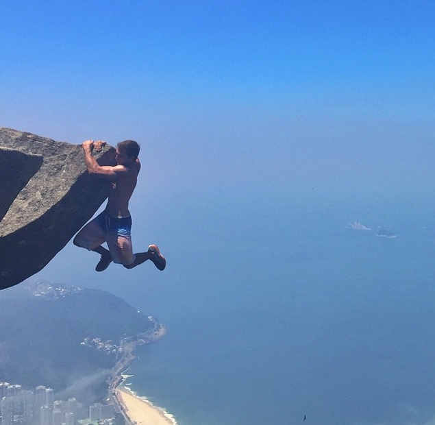 This Couple Is Taking Romance To Dangerous Heights By
