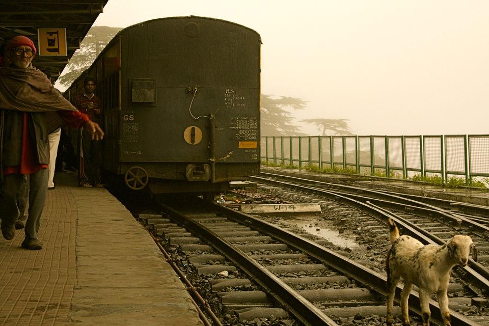 Train Station at Visakhapatnam