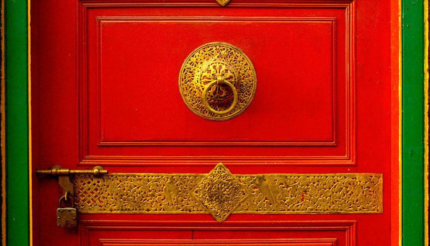 Entrance to Ralang Monastery