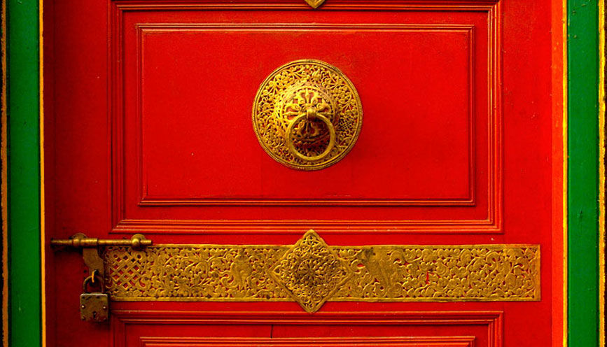 Photos of Entrance to Ralang Monastery by Baichung Bhutia