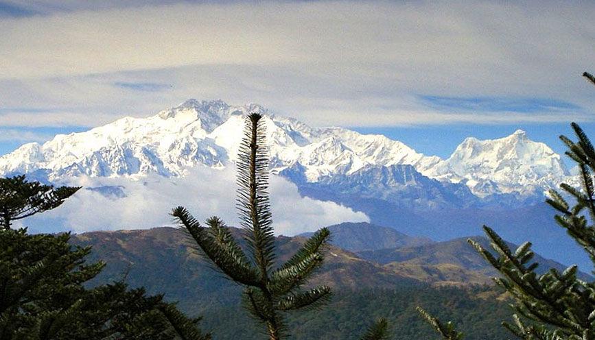 Photos of On top of Maenam Hill by Baichung Bhutia