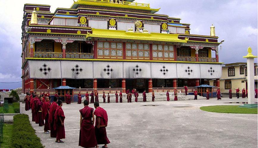 Photos of Ralang Monastery by Baichung Bhutia