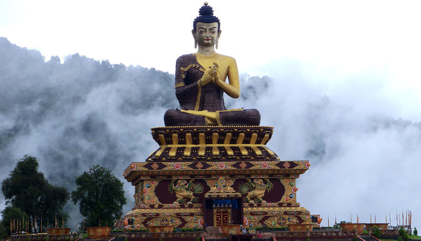 Photos of The Buddha Statue by Baichung Bhutia