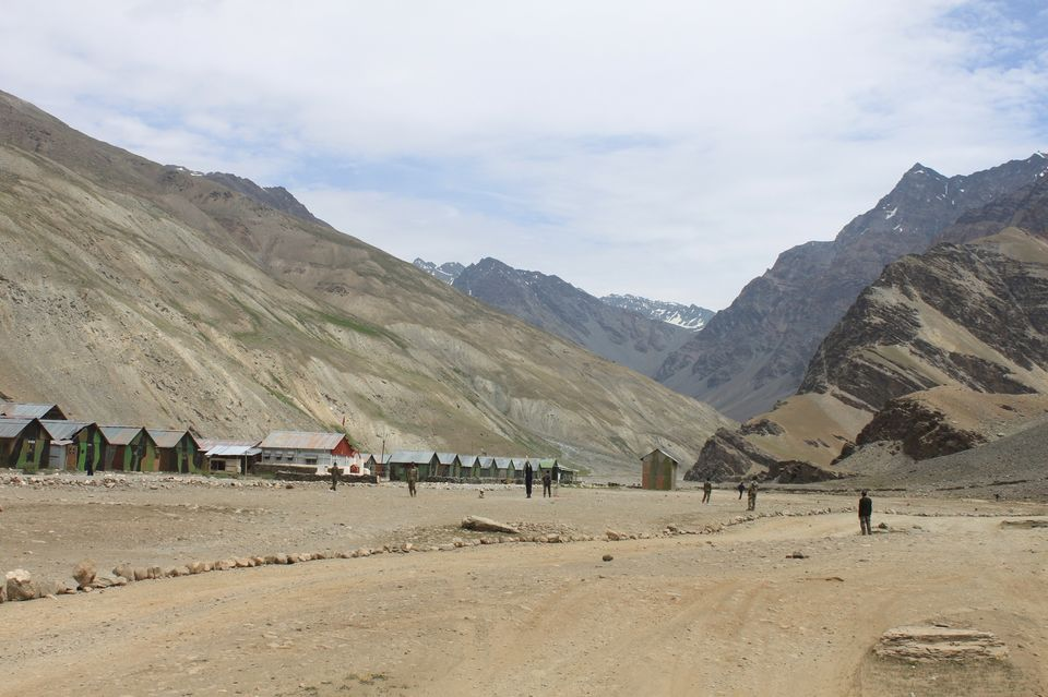 Photos of Army Settlement at Patseo by Aftab Singh