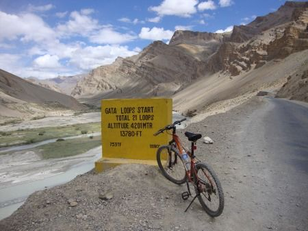 Photos of Start of The Gata Loops by Aftab Singh