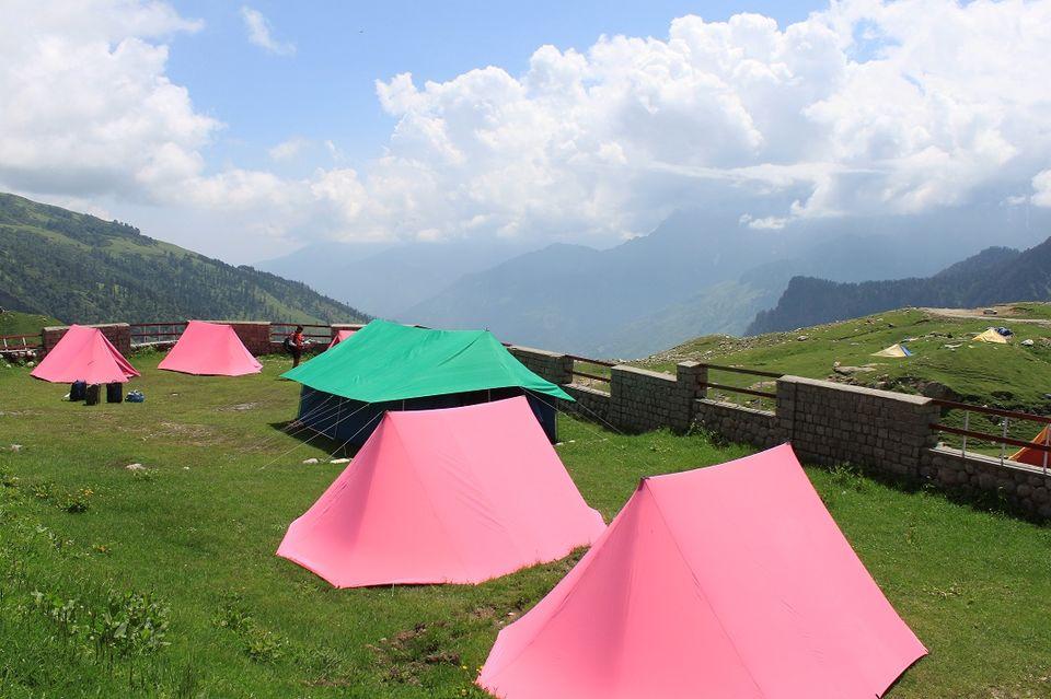 Camping at Marhi
