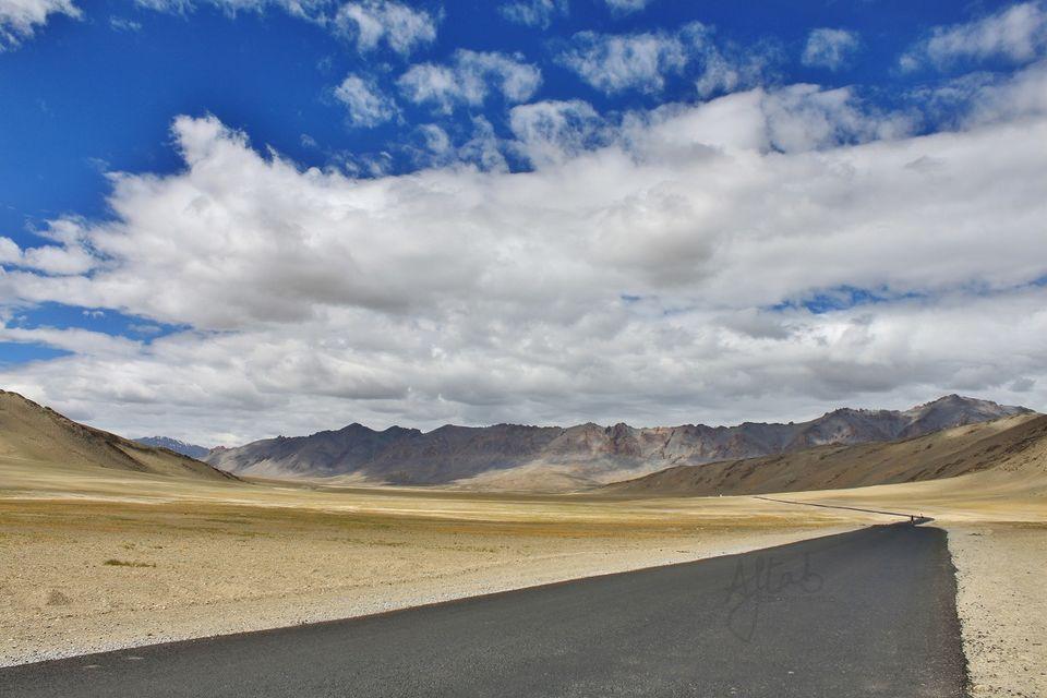 Beautiful roads at Morey Plains