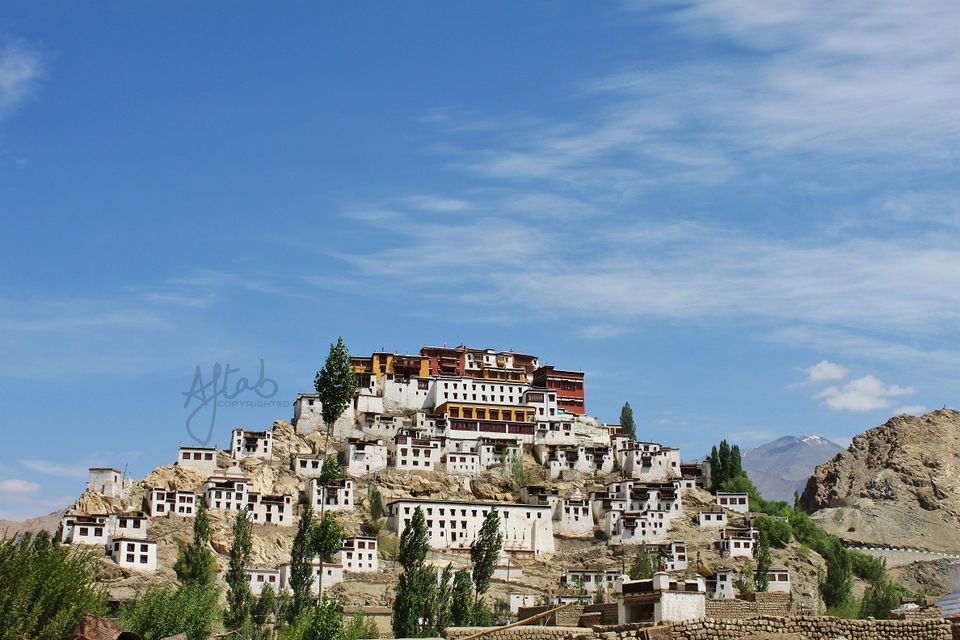 Thiksey Monastery on the way to Leh