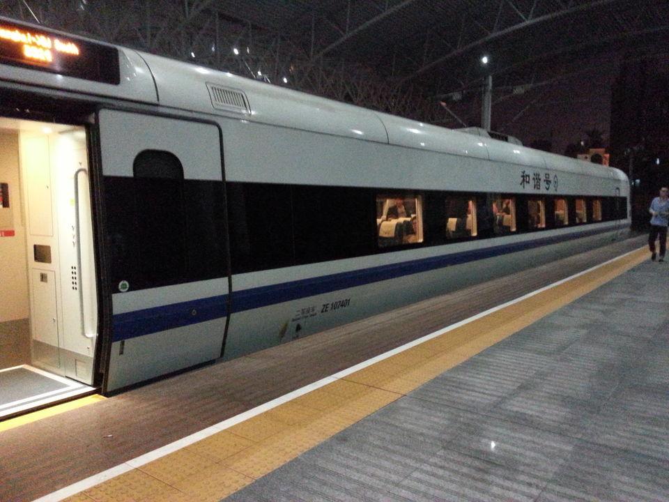 Shanghai-Bejing Overnight Train