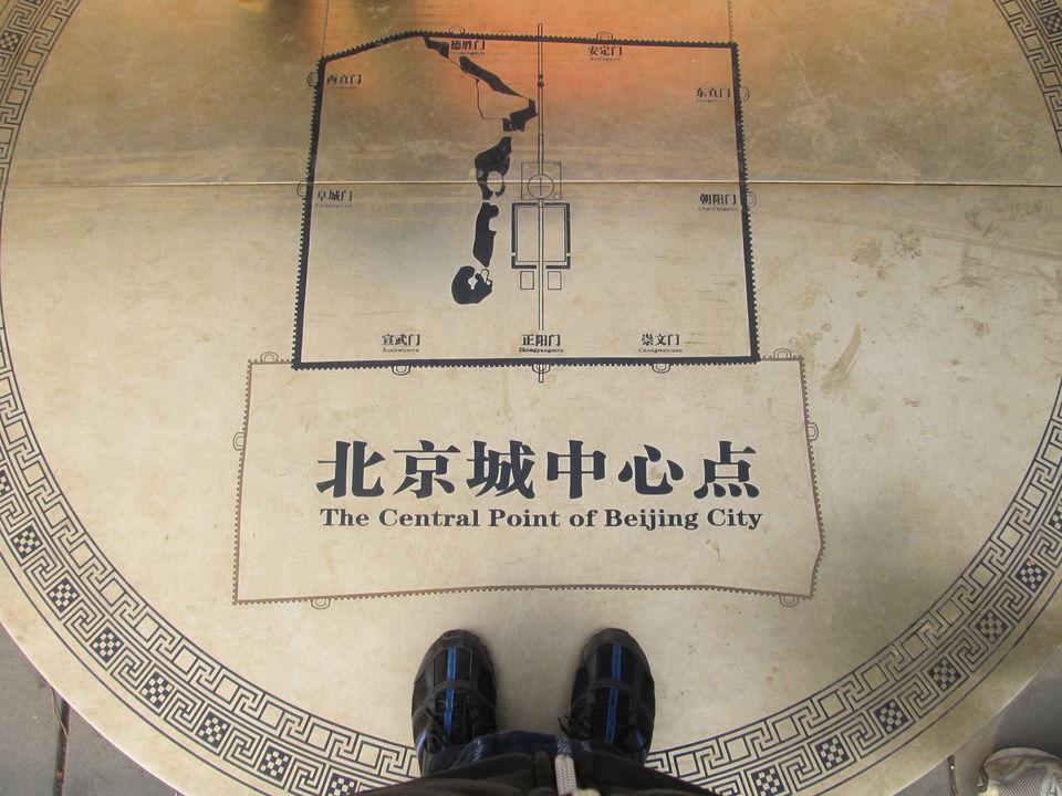 Beijing City's Center Point