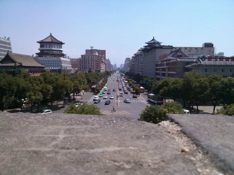 From the City Wall, Xi'an