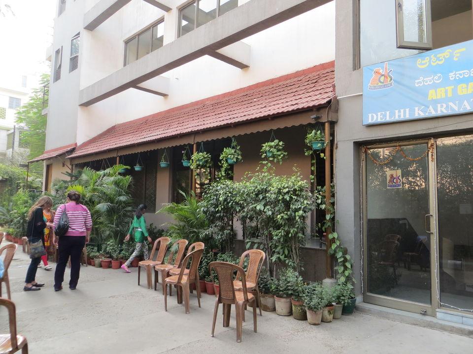 Restaurant Inside Deer Park Delhi