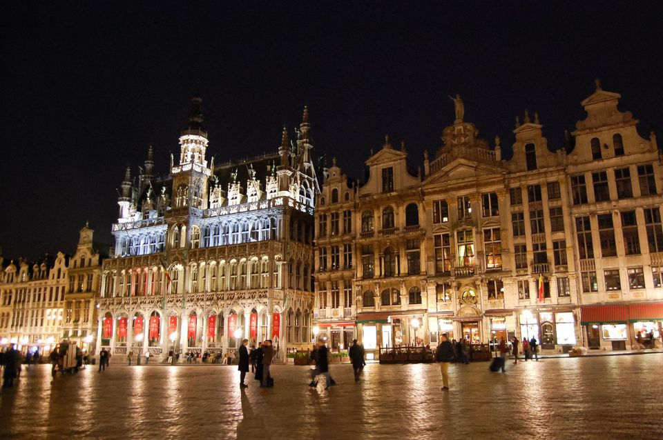 Photos of Glittering Grand Place by Ruchika Makhija
