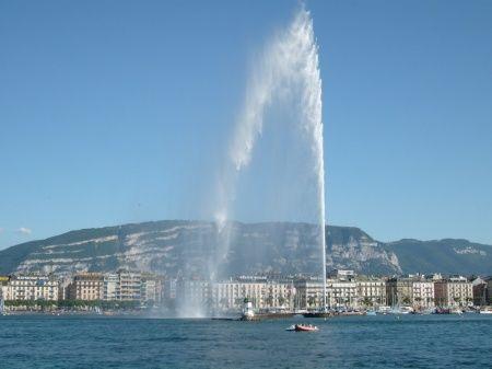 Photos of Geneva- Jet d'Eau by Ruchika Makhija