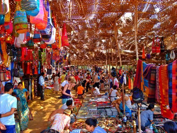 Image result for anjuna beach flea