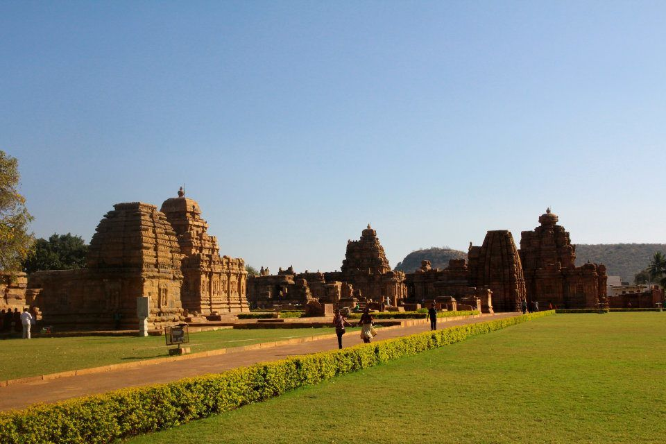 Photos of The temple workshop at Pattadakal by Arundhati Sridhar
