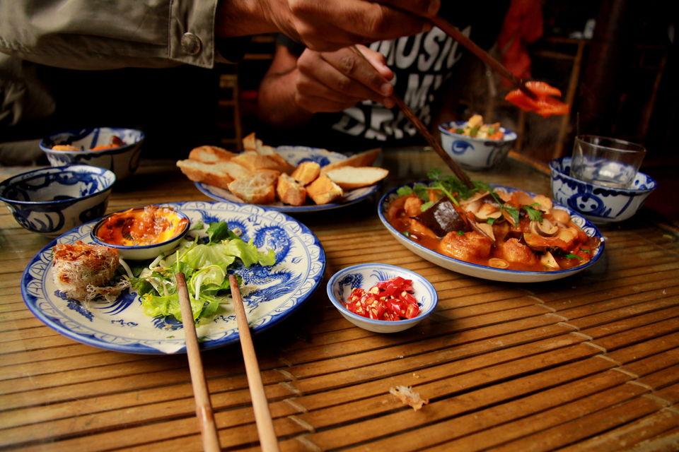 Our favourite meal in Vietnam -- Lien Hoa, Hu