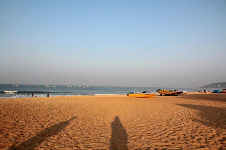 Calangute at an unearthly hour