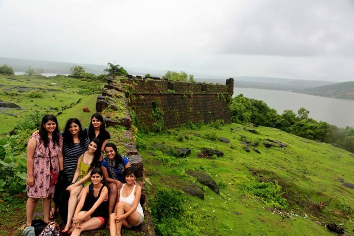 Chapora Fort in the rains