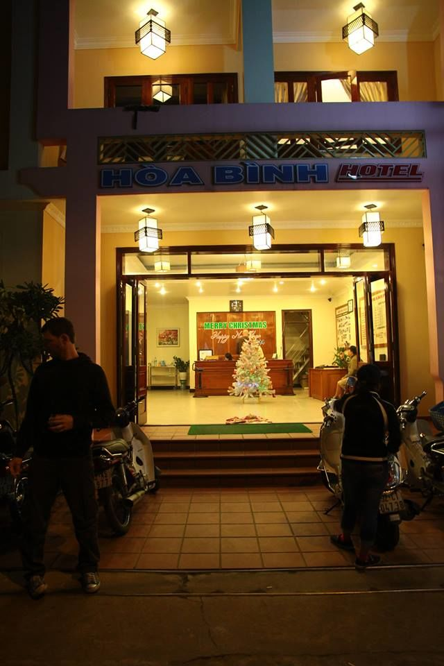 Photos of Hoa Binh Hotel by Arundhati Sridhar