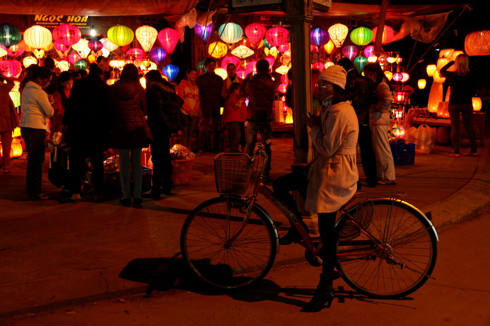 The magical lantern-lit streets of Hoi An
