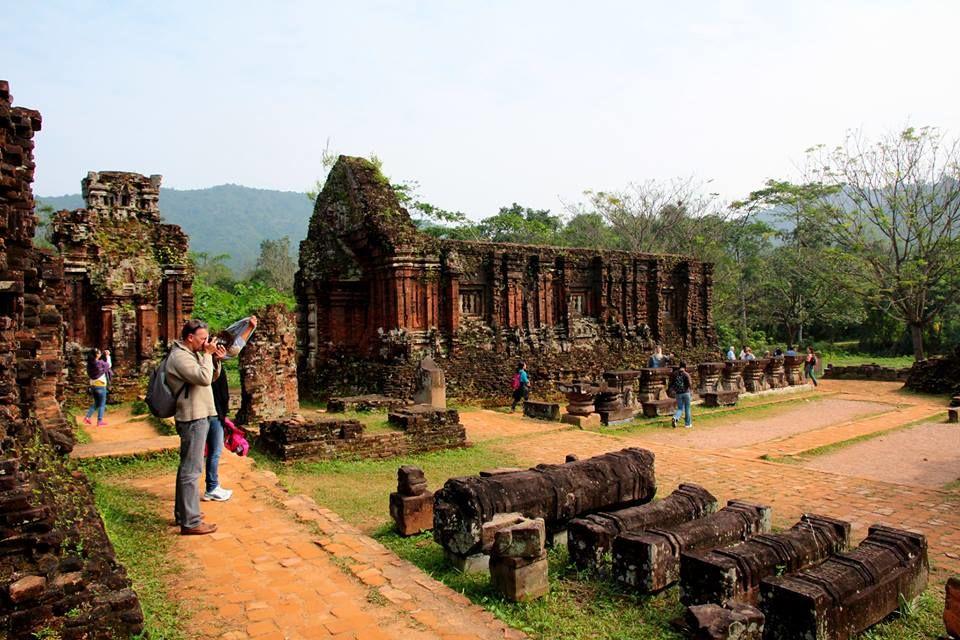 Photos of My Son Ruins near Hoi An by Arundhati Sridhar