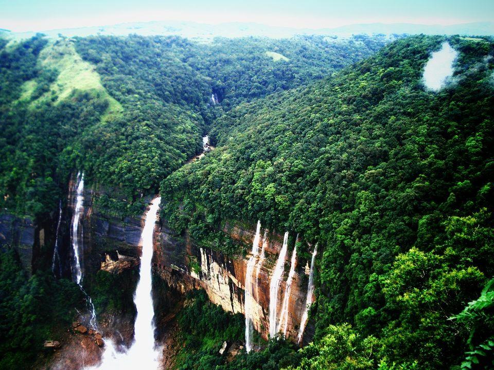 Photos of Seven Sisters Falls, Cherrapunji, Meghalaya, India 1/1 by pshrutika