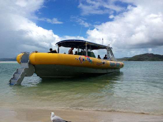 Banana rafts, white beaches and the Great Barrier Reef