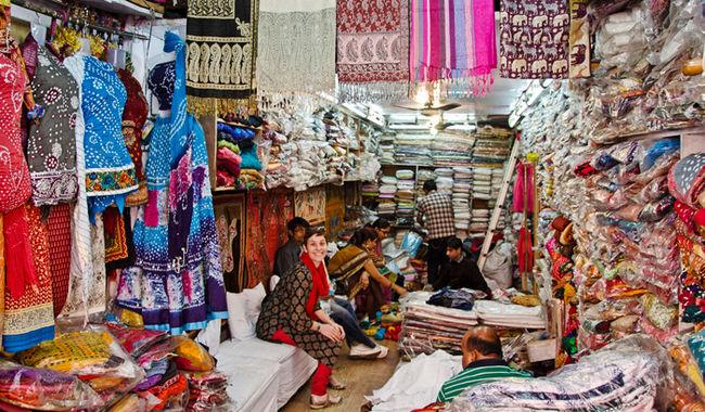Shopping- Baapu Bazaar, Jaipur