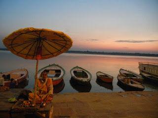 Varanasi morning at the Ghats