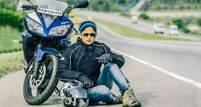 Meet the First Indian Female Biker to Ride Solo From Kanyakumari to Kashmir