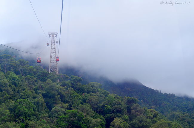 Traveling Across Country By Cable Car