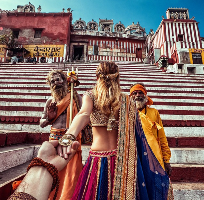 Your Favourite Traveling Couple is Back in India to Give You Serious Relationship Goals