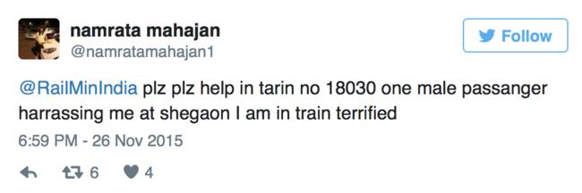 Woman Passenger in Distress Got Immediate Help After Her Tweet To Railway Minister