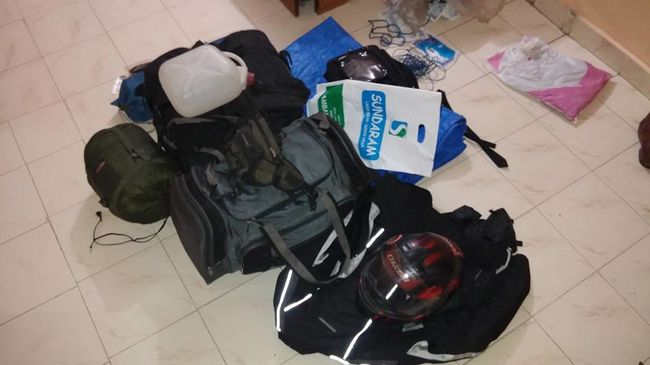 Tour de Hind - A Solo Motorcycle Journey! Day 1