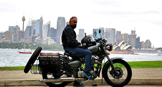 This Indian Biker Quit His Job And Sold His Flat To Go On A 550 Day Long Roadtrip