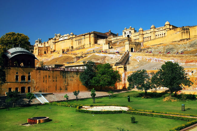 Pride of the Pink City: Amer fort, Jaipur