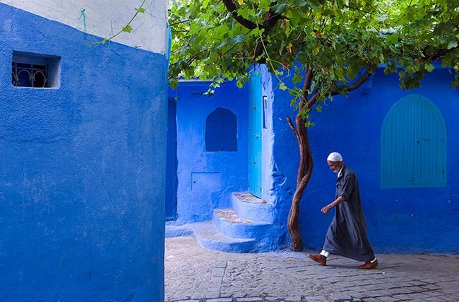 This Incredible City Is Blue And It Looks Unbelievably Unreal