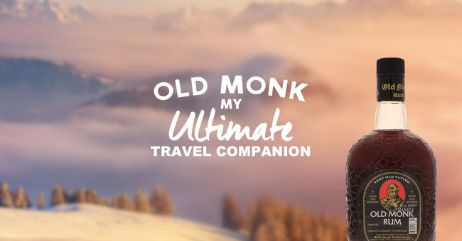 Old Monk: My Ultimate Travel Companion