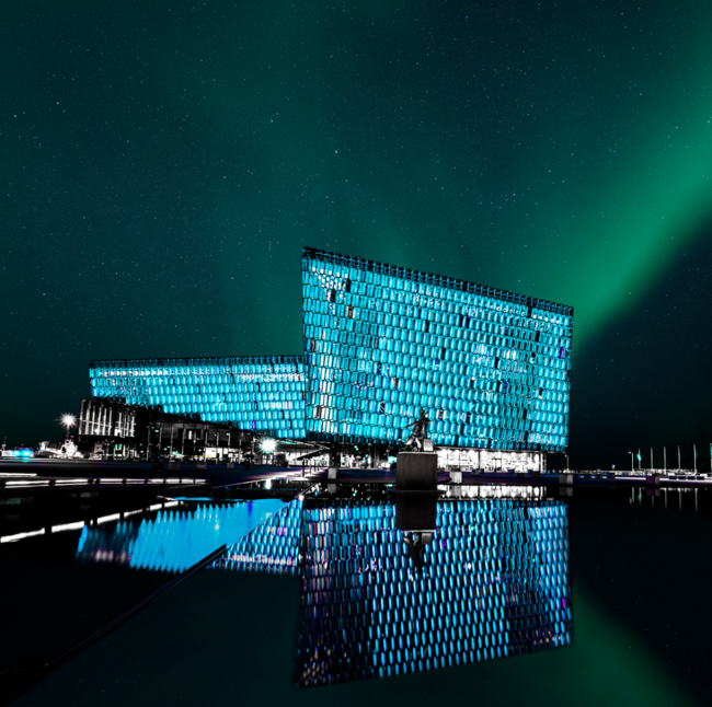 Iceland's Capital City Shut Down All Light to Let the Northern Lights Shine Bright