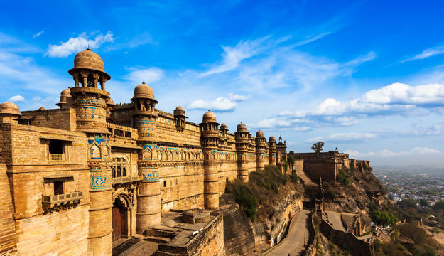 Photos of Gwalior Fort, Gwalior, Madhya Pradesh, India 1/1 by Mayank Pandeyz (with floating shoes)