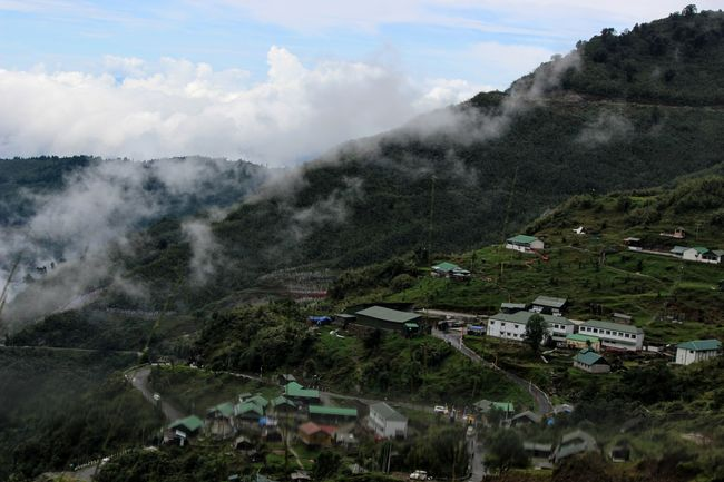 Sikkim : beauty nestled in mountains