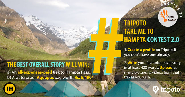 Write A Story On Tripoto And Win A Hampta Pass Trek + Luxury Goodies + Memories Of A Lifetime
