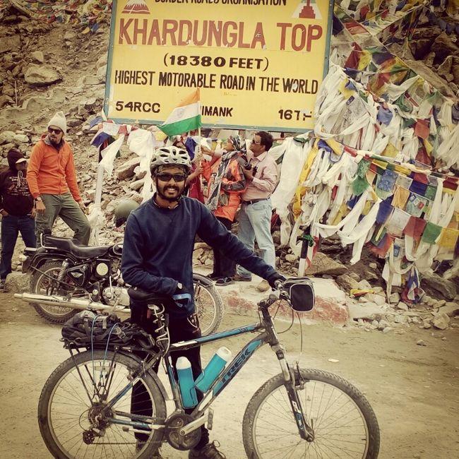 Manali – Leh – Srinagar: Solo Cycling Expedition '15
