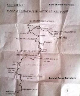 """Manali-Ladakh Motorbike Tour"""