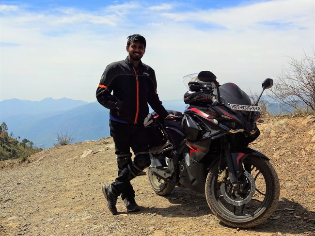 My First Bike Ride : GGN-CHD-Kasauli-Chail-Kufri-Shimla and back !!