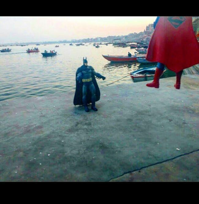 Batman v Superman: Ghats of Banaras(Varansi)