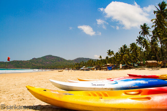 Blue waters and peace? Hello Palolem!