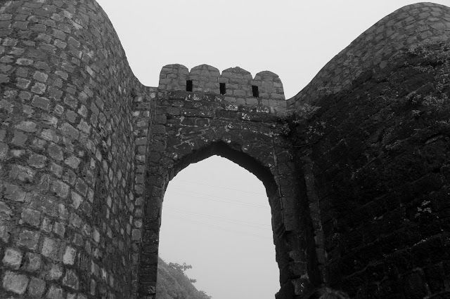 Trekking at Sinhgad Fort, Pune
